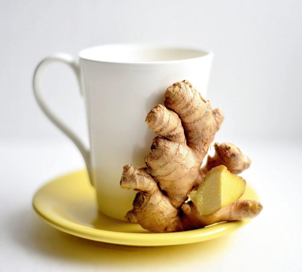 herbata z imbirem na zgagę