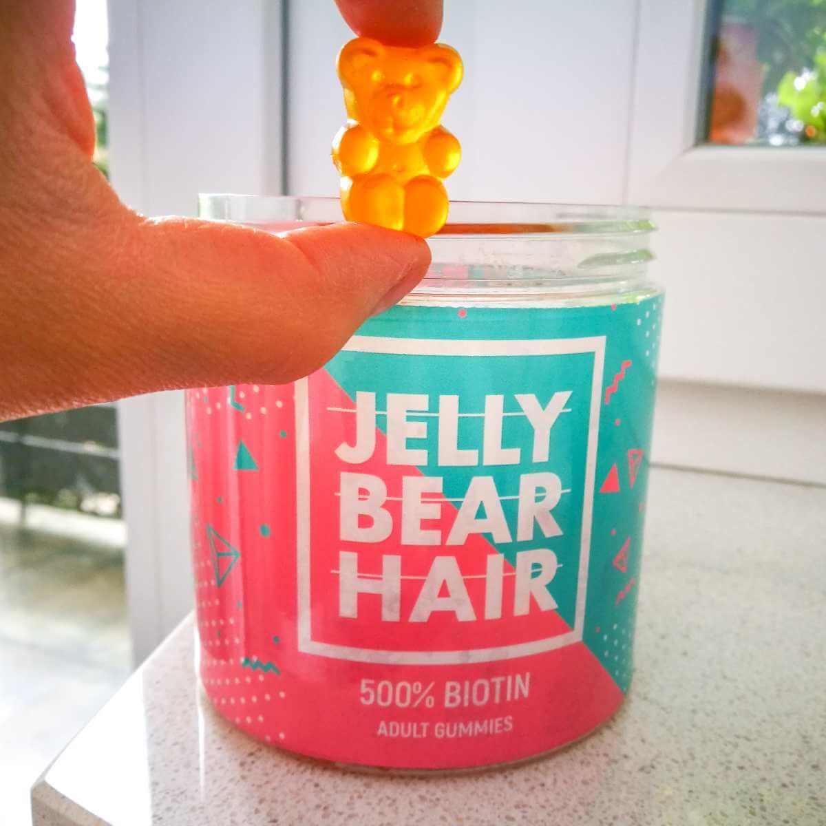 Jelly Bear Hair - cena, skład i opinie
